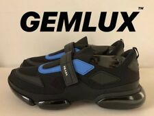 PRADA Black & Blue Cloudbust Sneakers Size 43 UK9 (Fits UK10-44) RRP £600