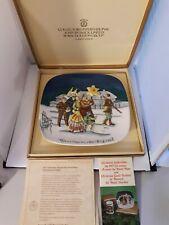 Vtg Royal Doulton John Beswick Poland 1977 Christmas limited Edition Plate