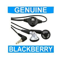 GENUINE Blackberry 9000 BOLD Headset Handsfree Headphones Mobile Phone original