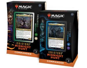 Innistrad Midnight Hunt Commander Decks Set - MTG Magic the Gathering - New!
