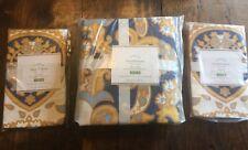 Pottery Barn Kendall Full Queen Duvet Cover + (2) Standard Shams NWT