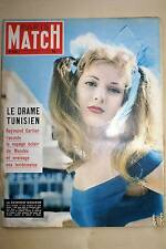 PARIS MATCH N°280 LE DRAME TUNISIEN