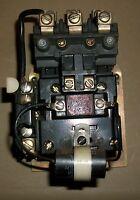Allen Bradley Size 1 DC Motor Starter W/120V Coil- #209AC-B0DX484