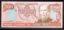 Costa Rica. 500 colones, D02190891. 6-7-1994, Universal.