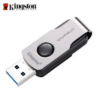Kingston 16GB 32GB 64GB USB 3.1 DataTraveler SWIVL capless design swivel drive
