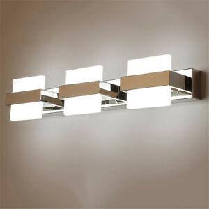 Modern Bathroom Lighting LED Vanity Mirror Toilet Makeup Wall Lamp Fixture Light