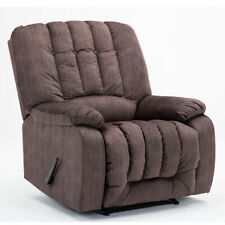 OVERSIZED RECLINER CHAIR MANUAL SOFA ARMREST PADDED LIVING ROOM WIDE SEAT LOUNGE