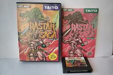 Rastan Saga MSX/MSX2 Game Cartridge, Manual and Boxed set tested-b206-