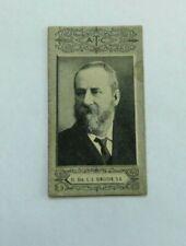 1901 Cigarette Card American Tobacco Company ATC Australian Parliament Kingston