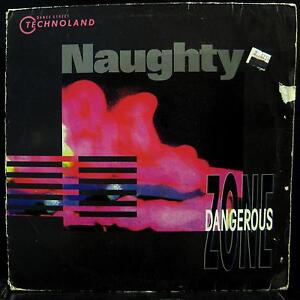 "DANGEROUS ZONE naughty 12"" VG DST 1061-12 German Techno Vinyl 1991 Record"