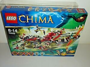 lego chima 70006 craggers command ship new sealed bnib mint inc box protector