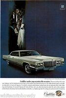 1970 CADILLAC Hardtop Sedan DeVille Classic Car Photo AD
