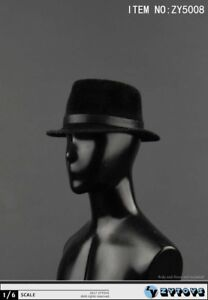 1/6 Scale Black Hat ZYTOYS ZY5008 for 12'' Action Figure