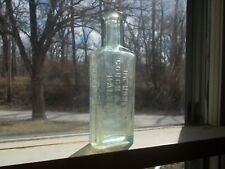 DR.HOUGH'S COUGH & LUNG BALSAM PROVIDENCE,RI 1890s MEDICINE BOTTLE