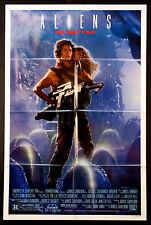 ALIENS SIGOURNEY WEAVER JAMES CAMERON SCI-FI 1986 RIPLEY STYLE B 1-SHEET