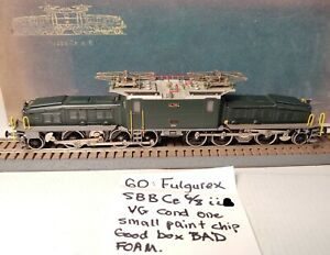 Fulgurex Ce 6/8 II #14284 Green & Grey Used VG Condition (twt 60)