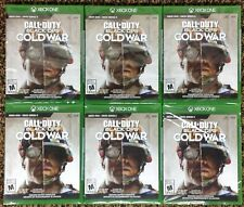 CALL OF DUTY BLACK OPS COLD WAR XBOX ONE & SERIES X BRAND NEW SEALED LOT OF 6 NR