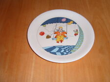 Poole England Clown design Plate 18 cms diameter very good condition