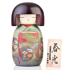 Sweet lady giapponese di legno bambola KOKESHI