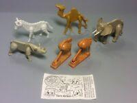 STECKIS: Satz Tiere Afrikas (mit Variante und BPZ) 1990