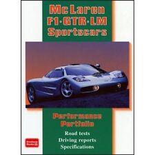 McLaren F1 GTR LM sportscars Performance Portfolio Livre Papier