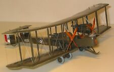 Vickers Vimy Heavy Bomber Airplane Desktop Wood Model Large