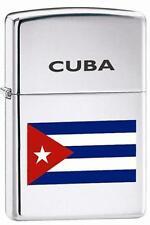 Zippo 250 cuban flag Lighter