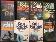 SAMMLUNG PAKET - 12 Romane COLIN FORBES + 5 in englischer Sprache in 13 Büchern