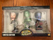NECA Marvel Mini Head Knockers: Wolverine, Hulk & Nightcrawler Wizard World NEW