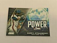 2020 Topps Stadium Club Baseball Power Zone - Darryl Strawberry - New York Mets