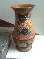Floor Vase , vintage and height 50 cm and hand painted from Germany