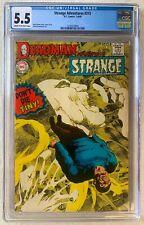 Strange Adventures #213 CGC 5.5 Fine- Neal Adams DEADMAN 1968 DC comics
