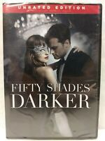 Fifty Shades Darker DVD NEW (Unrated Edition)