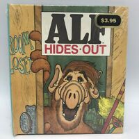 NOS **SEALED** Alf Hides Out  book 1988 Roxanne Ruth Stephens 1st Ed HC