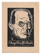 HUGO KRAFFT: Eigen-Exlibris