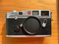 Leica M6 Classic 35mm Rangefinder Film Camera