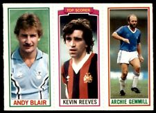 Adrian Heath Kenny Swain // 98 Topps Football 1981 Blue 14 Mortimer // 20