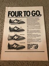 1977 NEW BALANCE Running Shoes Poster Print Ad 320 TRAIL SUPERCOMP CROSSCOUNTRY