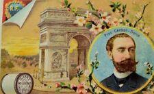 1887 Clark's Mile-End Spool Thread President Of France Marie François Carnot P70