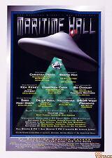 Christian Death Beenie Man Bo Didley Maritime Hall Poster 1996 Sep MHP# 21