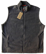 Men's WOOLRICH Gray Grey Andes Fleece Vest (Extra Large) XL NWT NEW Nice!!