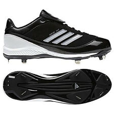 timeless design ca466 8a662 New Mens adidas Excel 365 Low Metal Baseball Cleats Size 10.5 Black MSRP  90
