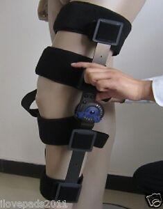 MEDICAL GRADE Adjustable Hinged Knee Leg Brace Support Protect Knee 3 Sizes