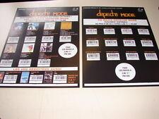 DEPECHE MODE SINGLE DISCOGRAPHY!!!!!!!!FRENCH PRESS/KIT