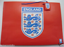 X10 Brand New Red Heavy Duty Officiel Angleterre part/Sac cadeau 45 x 33 cm