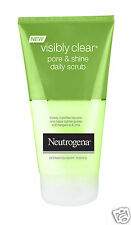 Neutrogena Visibly Clear Pore & Shine Daily Scrub Tighten Pores Mattifies Skin