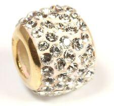 ♦♦♦9kt 375 Goldanhänger klare Ziersteine Strasssteine Damen Gold Ketten Anhänger