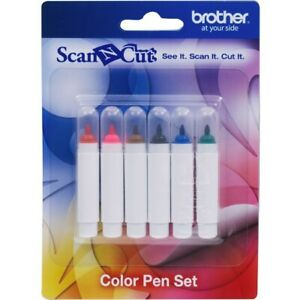 Brother 6 Color Pen Set, CAPEN1