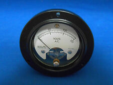 1908-42  ROUND METER  AC VOLTS 0-150 FS=1.5V MODEL 265     NEW OLD STOCK  A&M