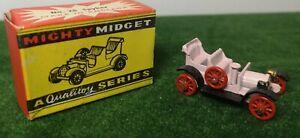 RARE Benbros Mighty Midget, Qualitoy Series No.25 SPYKER IN ORIGINAL BOX